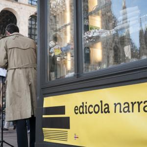 Edicola Narrante © Ambra Castelli