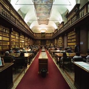Biblioteca Nazionale Braidense Ph. Yuma Martellanz