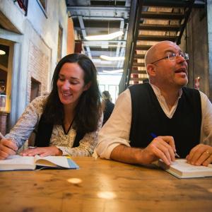 Massimo Gramellini e Chiara Gamberale Ph. Yuma Martellanz