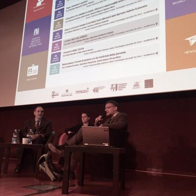 #BCM15 Licia Troisi, Stefano Moriggi e Umberto Guidoni