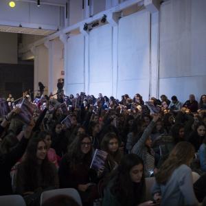 sala piena per Sofia Viscardi - ph. Fabrizio Di Nucci