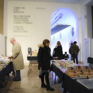 Bookshop Museo Scienza e Tecnologia - ph. Alessandra Lanza