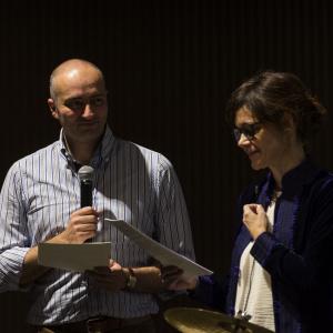 Donatella Ferrario e Fabrizio Pesoli - ph. Fabrizio Di Nucci