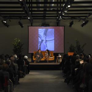 Sala Viscontea piena per Philippe Daverio - ph. Alessandra Lanza