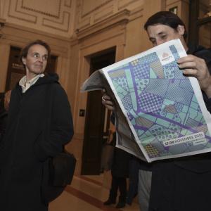 In attesa di Luis Sepulveda alle Gallerie d'Italia - ph. Alessandra Lanza