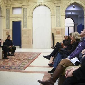 Incontro alle Gallerie d'Italia - ph. Alessandra Lanza