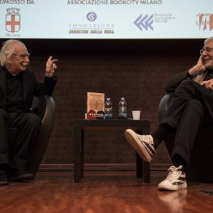 Giacomo Rizzolatti e Antonio Gnoli - ph. Elena Rosignoli