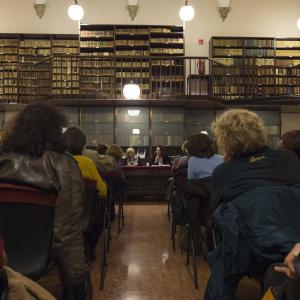 Sala Weil Weiss, Ayse Kulin e Farian Sabahi - ph. Fabrizio Di Nucci