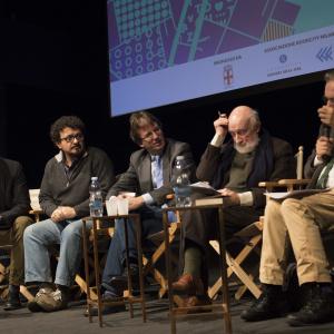 Gianni Biondillo, Filippo Del Corno, Vittorio Gregotti - ph. Yuma Martellanz