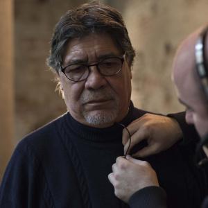 Luis Sepulveda alle Gallerie d'Italia - ph. Yuma Martellanz