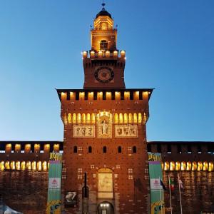 Il Castello Sforzesco per #BCM17 - ph. Ruggiero Scardigno