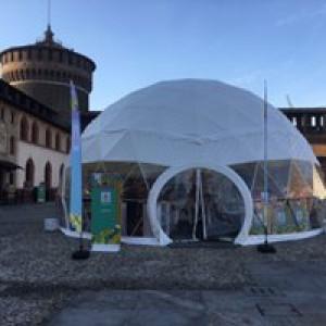 La libreria di #BCM17 al Castello Sforzesco