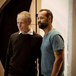 Erri De Luca e Fabio Volo al Flagship Store Lavazza, #BCM17 - ph Alexia Stok
