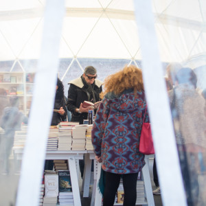 La libreria di #BCM17 - ph. Alessandra Lanza