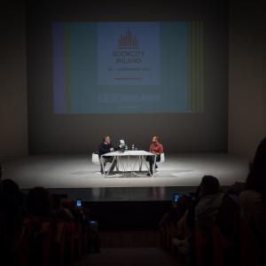 Fabio Volo al Teatro Elfo Puccini per #BCM17 - ph. Alessandra Lanza