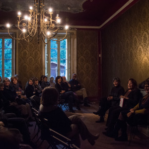 Pubblico all'Headquarter 5Vie - ph. Alessandra Lanza