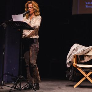Sonia Bergamasco legge a #BCM17 - ph. Ruggiero Scardigno