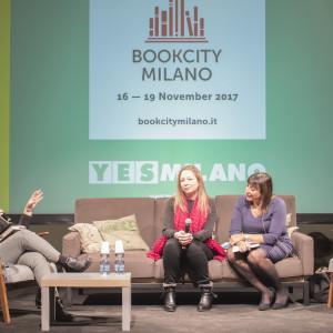 """Stregata dal fantasy"" con Scarlett Thomas e Alessandra Tedesco - ph. Giulia Velardi"