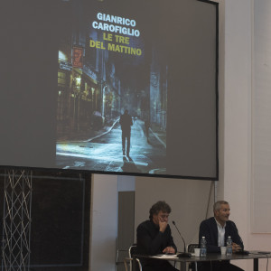 Gianrico Carofiglio a #BCM17 - ph. Giulia Velardi