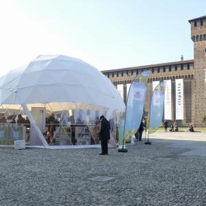 Cortile delle Armi, Castello Sforzesco - ph. Camilla Bianchi