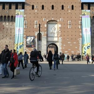 Il Castello Sforzesco per #BCM17 - ph. Camilla Bianchi