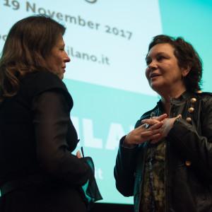 Incontro con Clara Sanchez a #BCM17 - ph. Alessandra Lanza