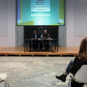 Antonio Manzoni e Alessandro Robecchi a #BCM17 - ph. Camilla Bianchi