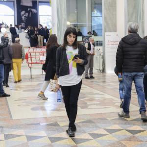 Volontari #BCM17 alla Triennale di Milano - ph. Camilla Bianchi