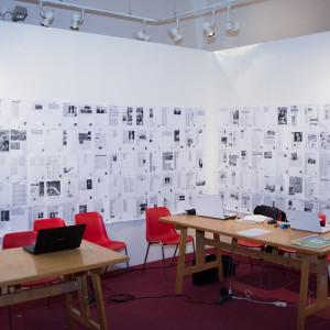 La sala stampa di #BCM17 - ph. Alessandra Lanza