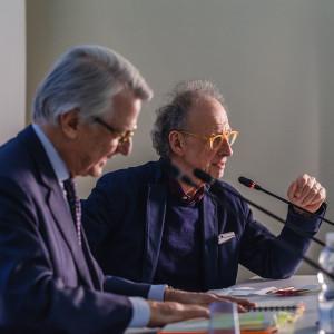 Gherardo Colombo e Ferruccio de Bortoli a #BCM17 - ph. Ruggiero Scardigno