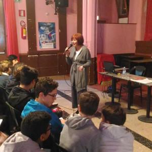 Daniela Palumbo per il progetto Le donne che hanno rivoluzionato la storia (Piemme, presso l'Arci Bellezza)