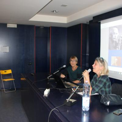Anna Parisi e Lara Albanese per il progetto Le idee della relatività (Salani, presso la Fondazione Arnoldo e Alberto Mondadori)